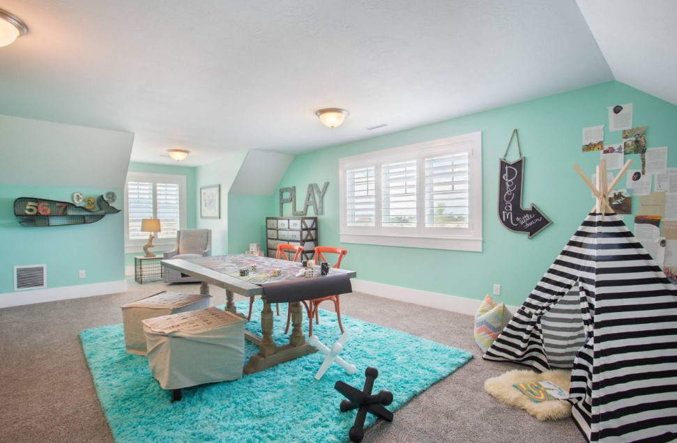 bradshaw residence kids room - salt lake city