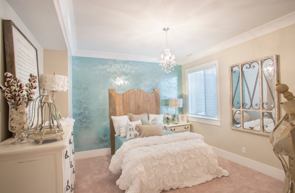 bradshaw residence shabby chic style bedroom design - salt lake city